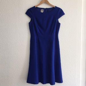 Anne Klein cap sleeve dress